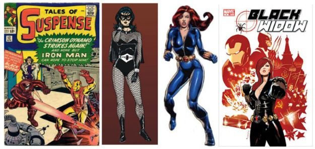 Women in Comics Black Widow