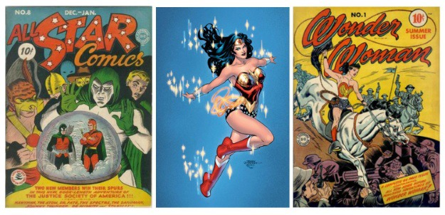 Women in Comics Wonder Woman