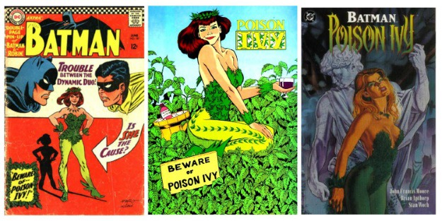 Women in Comics Poison Ivy
