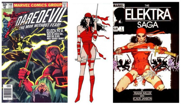 Women in Comics Elektra
