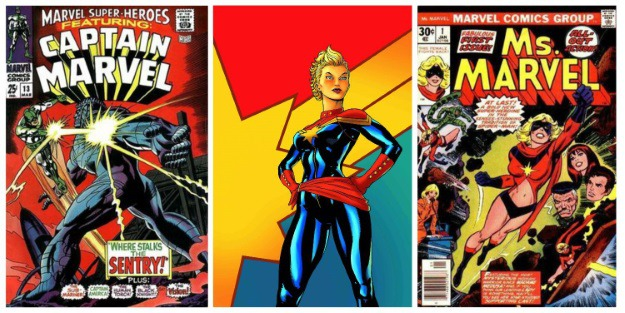 Women in Comics Captain Marvel