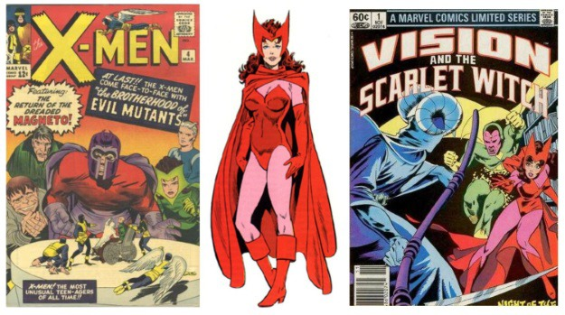 Women in Comics Scarlet Witch