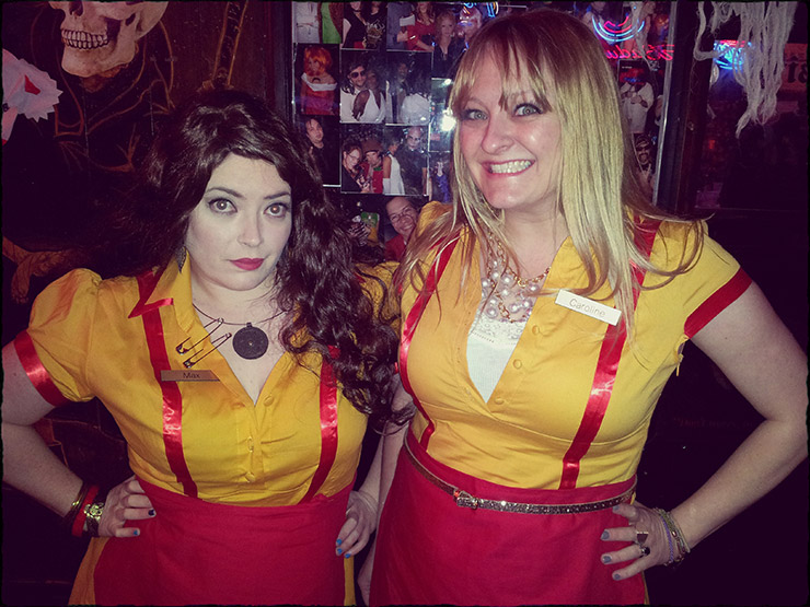 2 Broke Girls costume for 2015