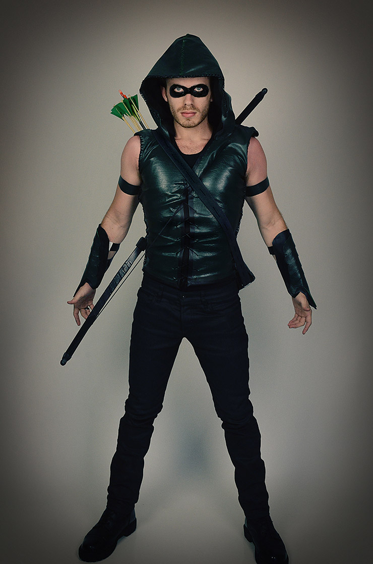 Arrow costume for 2015