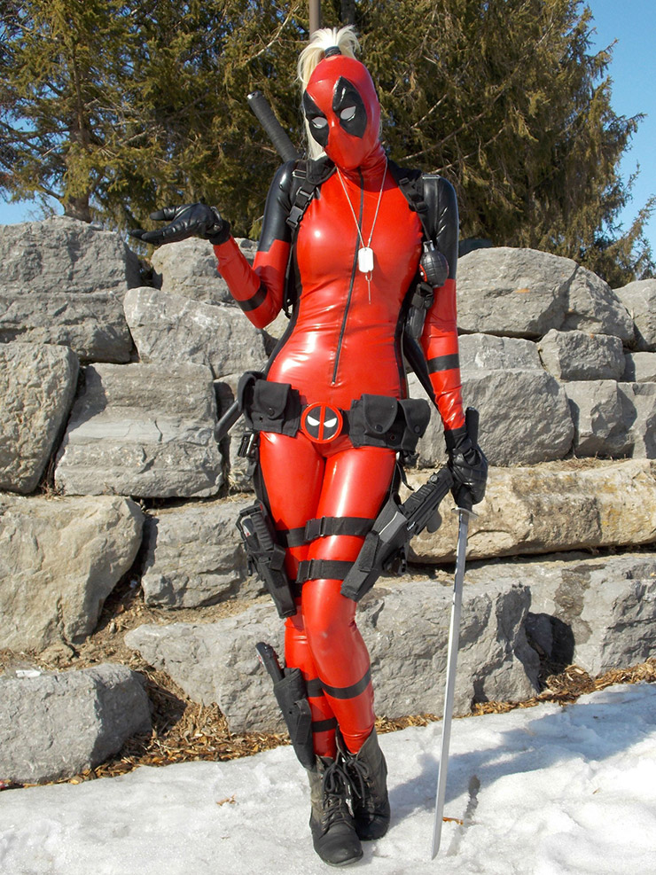 Deadpool costume for 2015