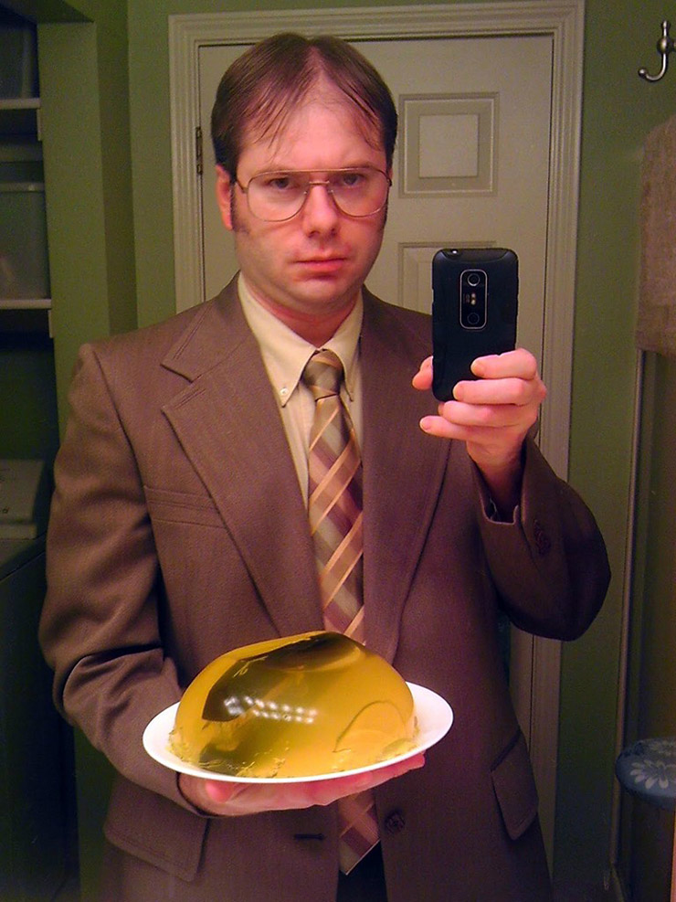 Dwight Schrute costume for 2015