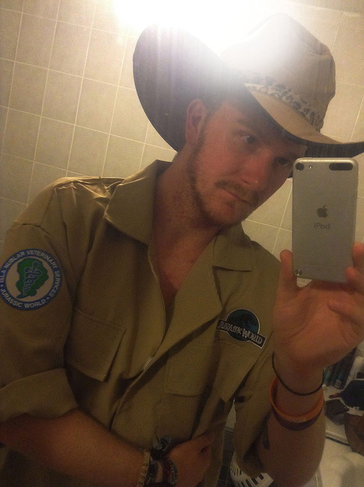 Jurassic World costume for 2015