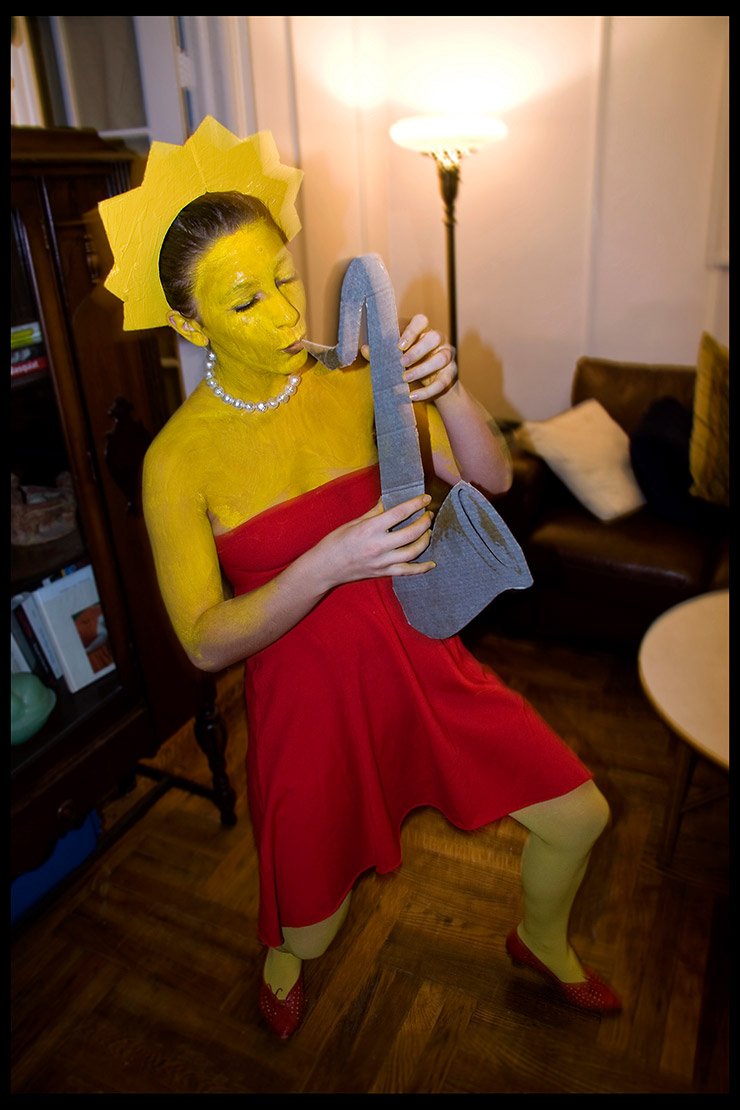 Lisa Simpson costume for 2015