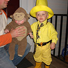 Curious George costume for 2015