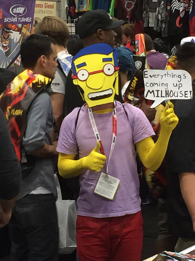 Milhouse costume for 2015