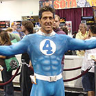 Mr. Fantastic costume for 2015