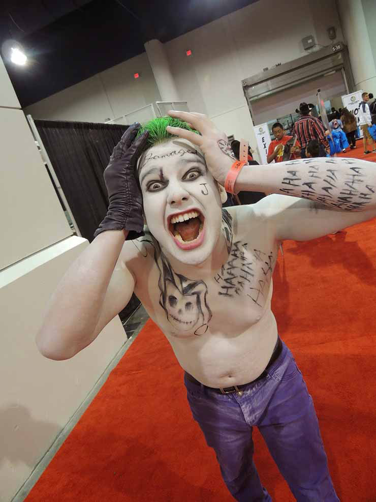 Suicide Squad Joker costume for 2015