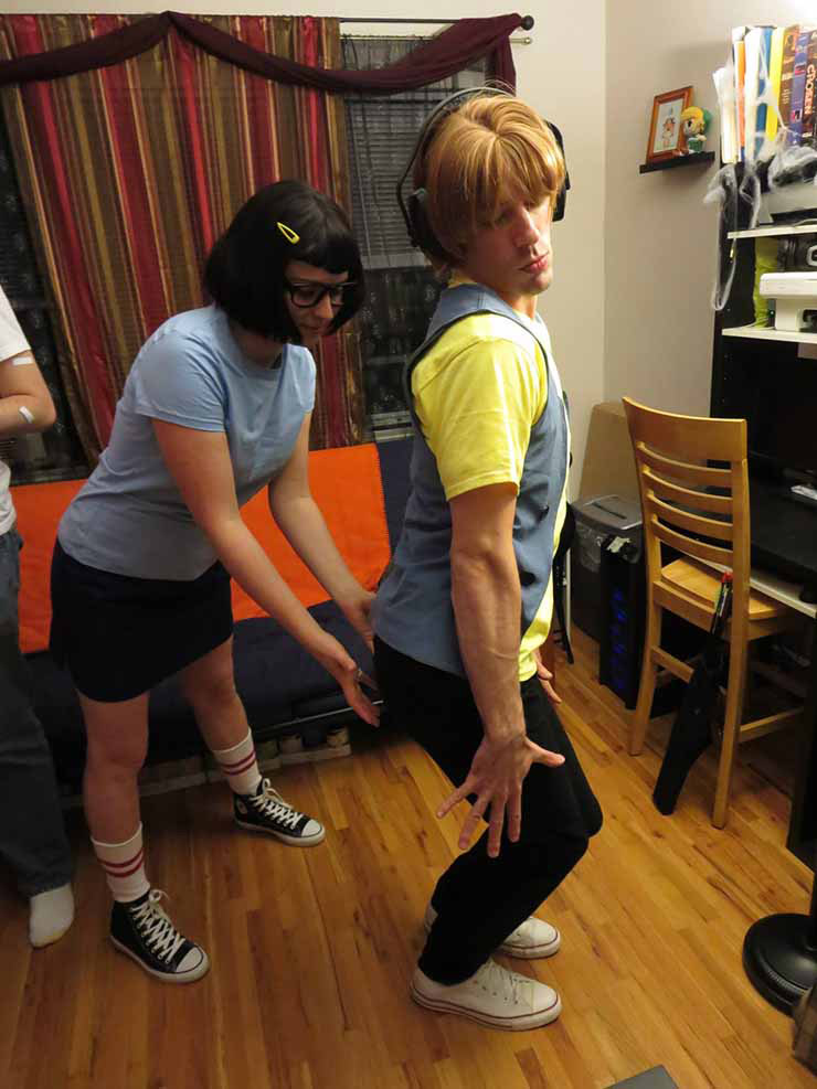 Tina Belcher costume for 2015