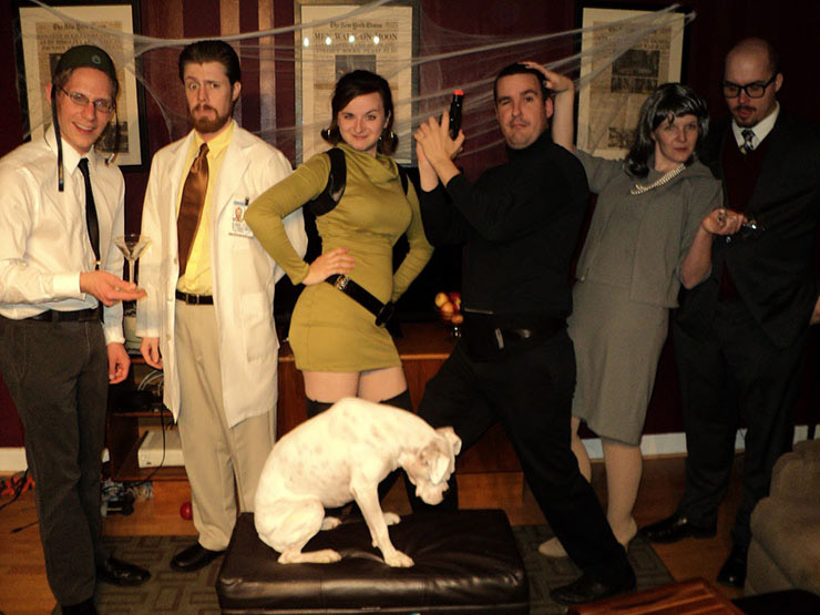 Archer Group Costume