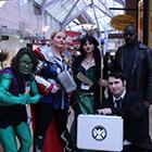 Avengers Group Costume