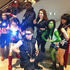 Gender Bender Avengers Group Costume