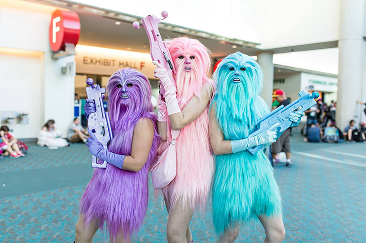 Chewbacca's Angels Group Costume
