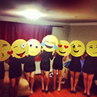 Emojis Group Costume