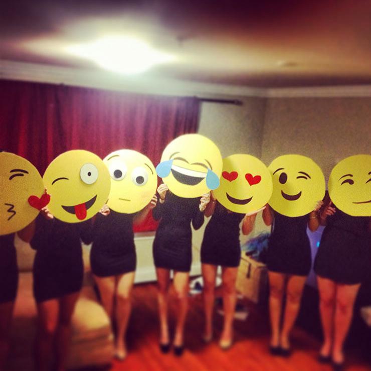 Emojis Group Costume