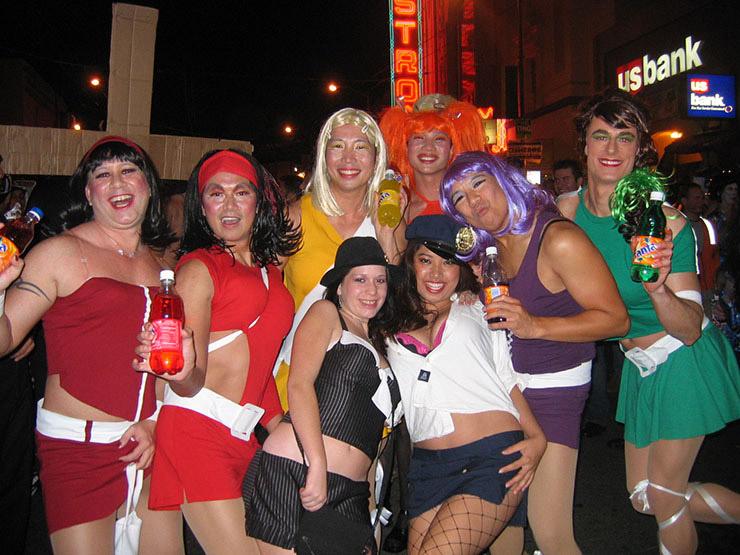 Fanta Girls' Group Costume