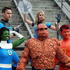 Fantastic Four Group Costume