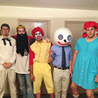 Fast Food Mascots Group Costume