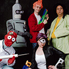 Futurama Group Costume