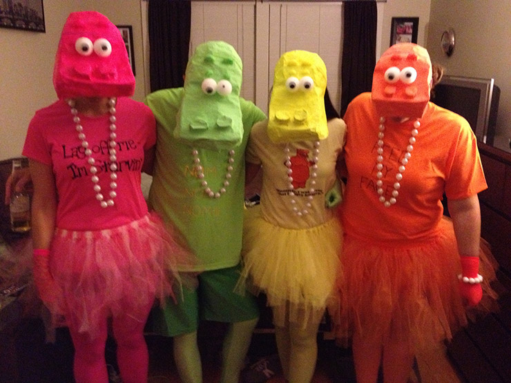 Hungry Hungry Hippos Group Costume