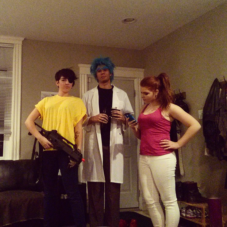 Rick and Morty Group Costume