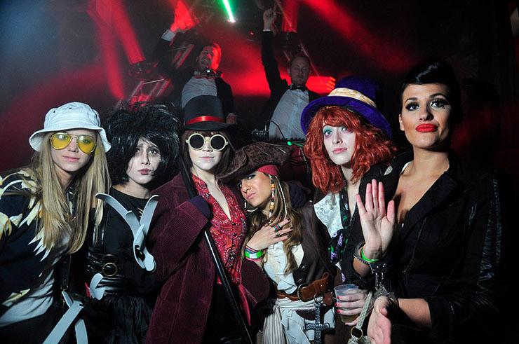 Johnny Depp Group Costume