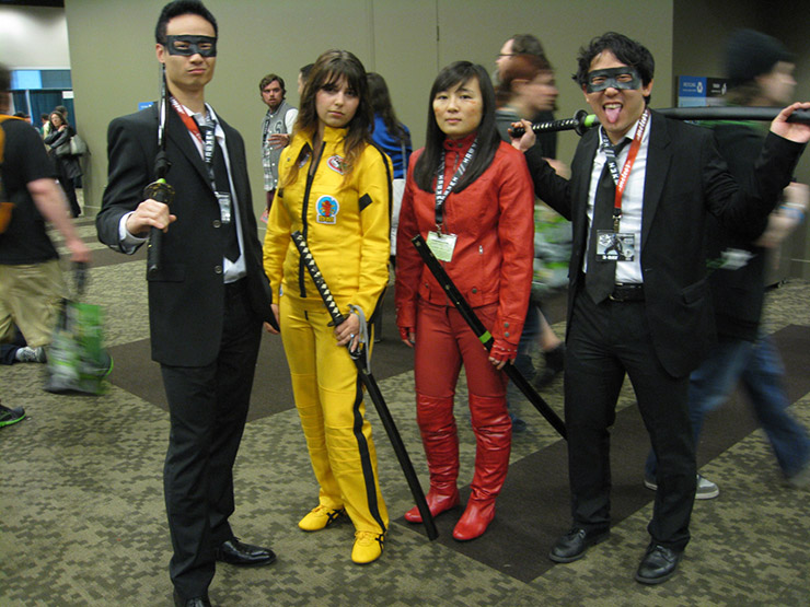 Kill Bill Group Costume