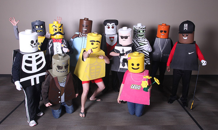 Legos Group Costume
