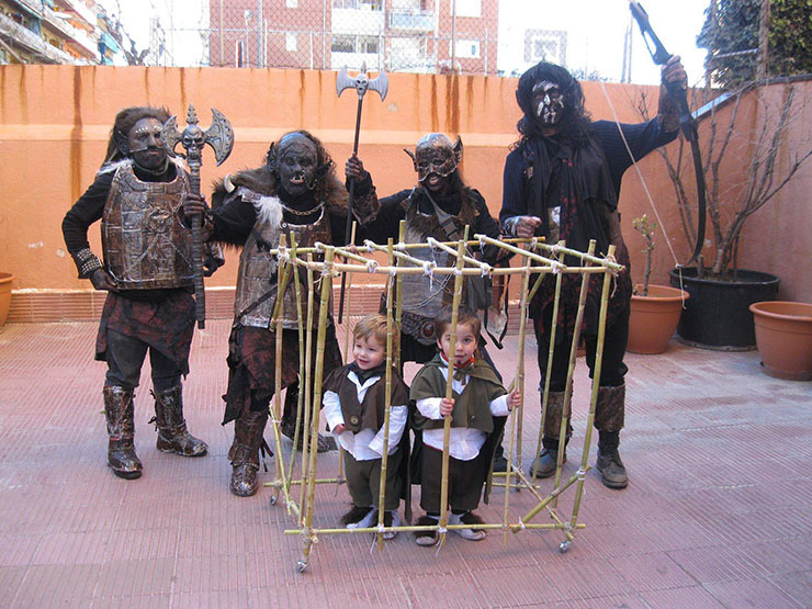 Orcs Group Costume