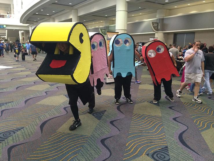 Pac-Man Group Costume