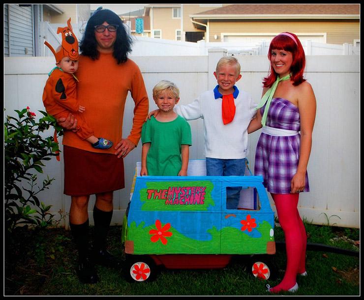 Scooby Doo Group Costume
