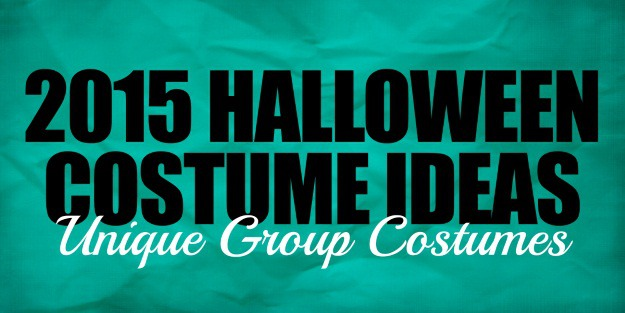 2015 Group Halloween Costume Ideas