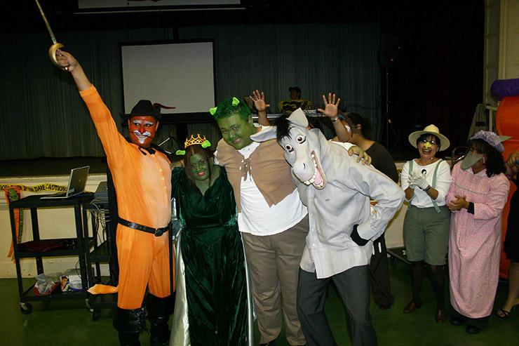 Shrek Group Costume