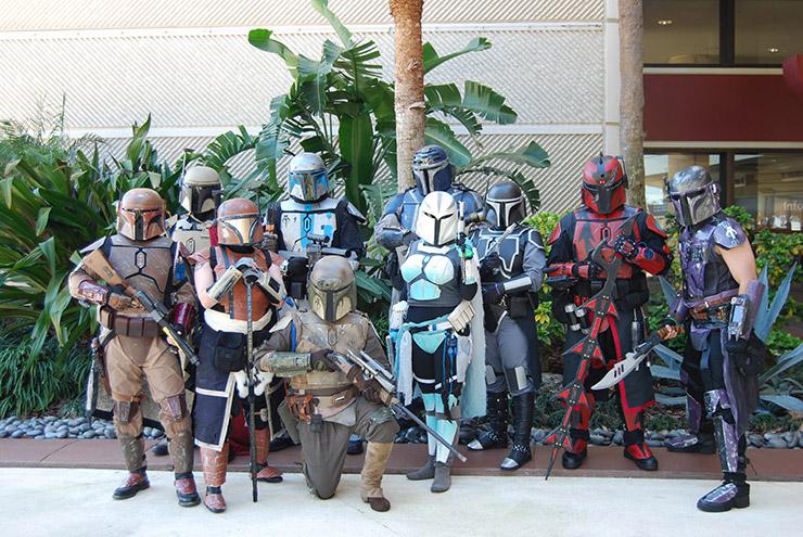 Star Wars Bounty Hunters Group Costume