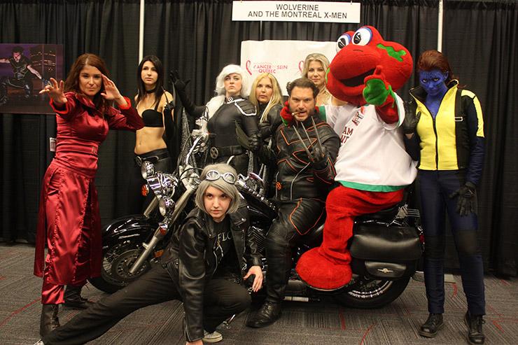 X-Men Group Costume