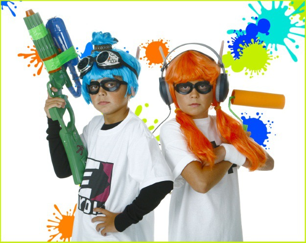 Splatoon Inklings Are Popping Up More And At Conventions Events Around The Globe What Better Costume To Show Your Love For All Things Nintendo