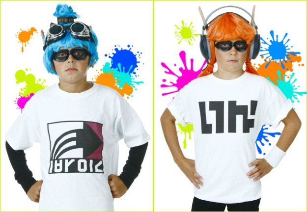 diy splatoon inklings costumes halloween costumes blog