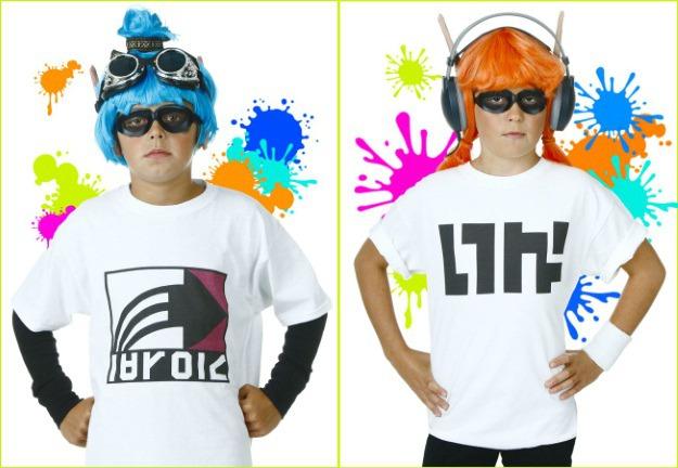 Custom Splatoon Inkling T-Shirts