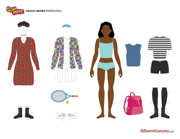 Ashley Banks Paper Doll