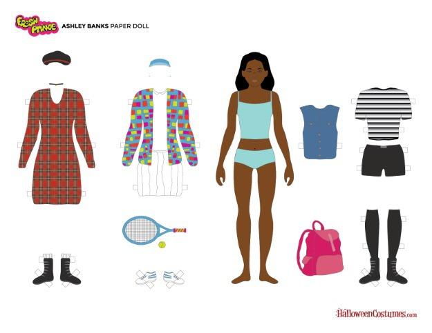 Ashley Banks Paper Doll