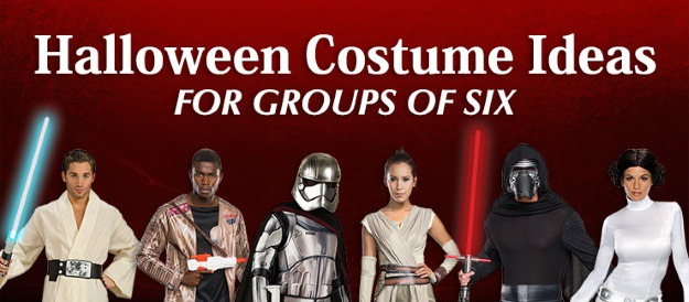 Halloween Costume Ideas for Groups of 6