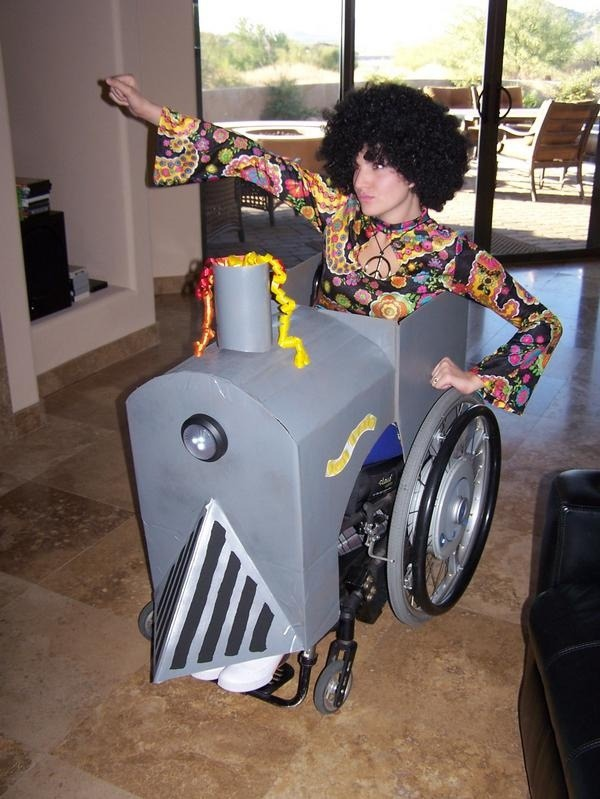 20 Halloween Costume Ideas for People in Wheelchairs