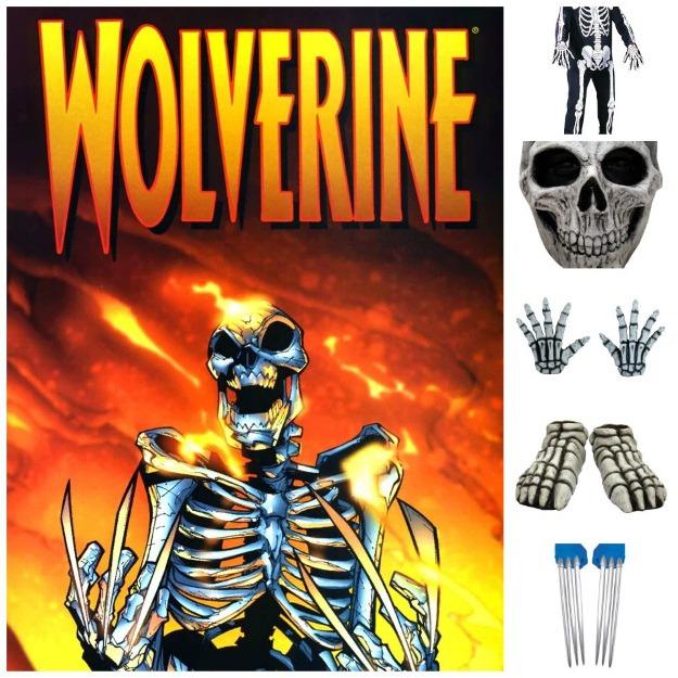 Adamantium Skeleton Wolverine from Civil War