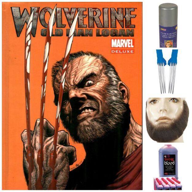 Old Man Logan Costume Idea  sc 1 st  Halloween Costumes & Be the Best There Is at What You Do: DIY Wolverine u0026 Alternate Logan ...