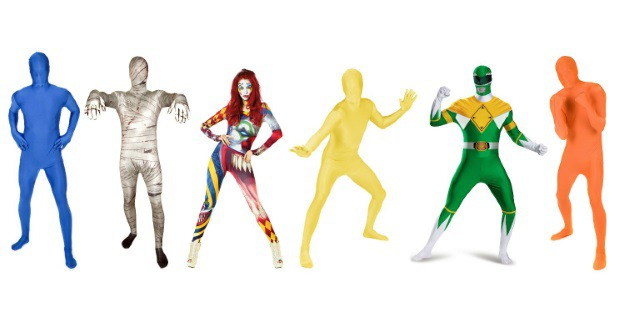 Zentai Suit Costumes for Groups