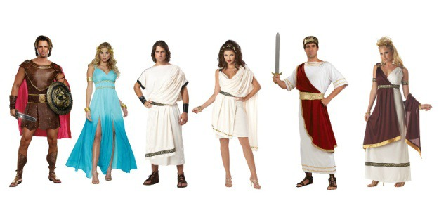 Greek Group Costumes